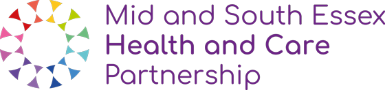 Mid and South Essex Health and Care Partnership logo